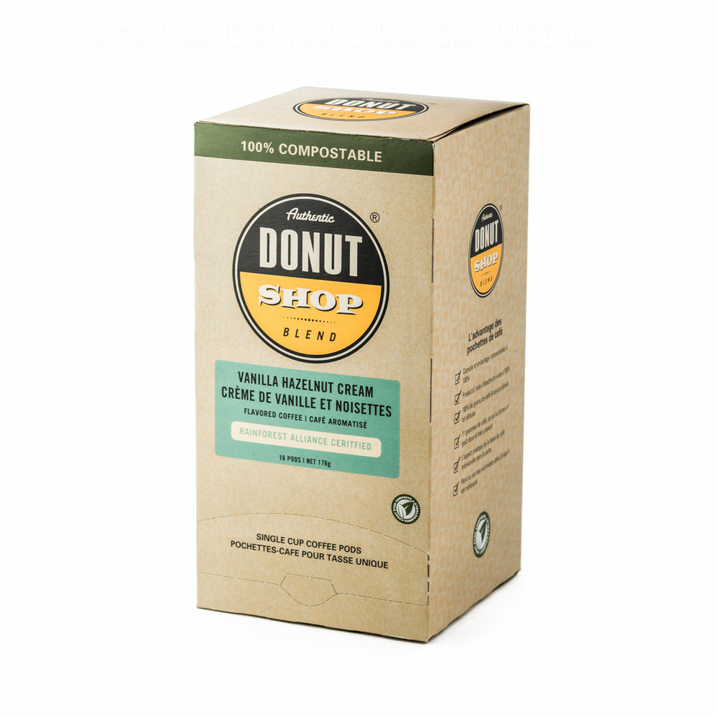 Authentic Donut Shop: Vanilla Hazelnut Cream Pods