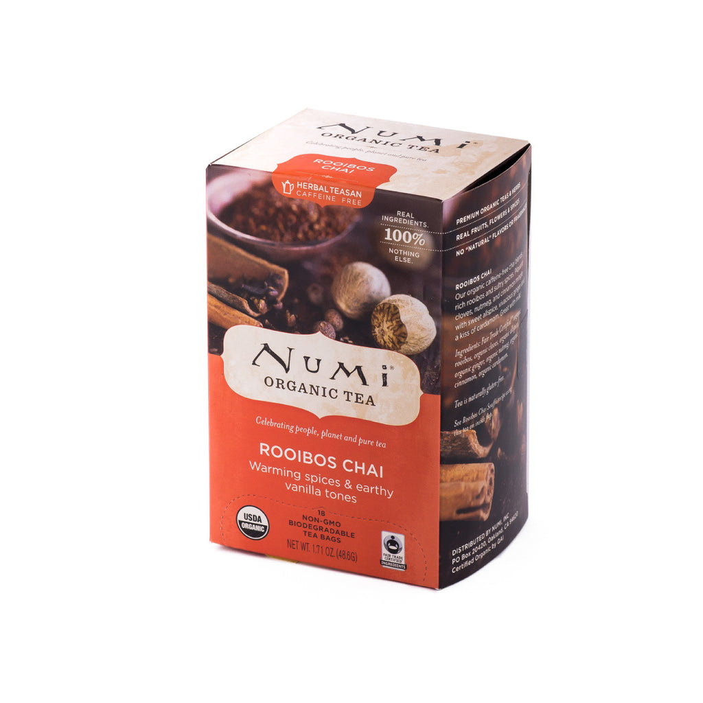 Numi Organic Tea Ruby Chai Tea Bags