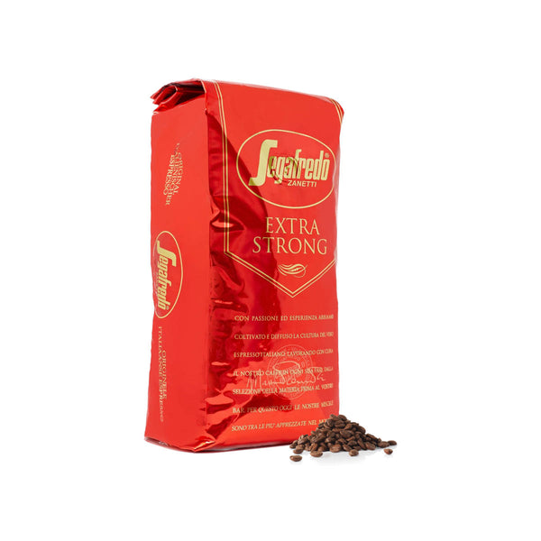 Segafredo Extra Strong Espresso (1kg Bag of Whole Bean Coffee)