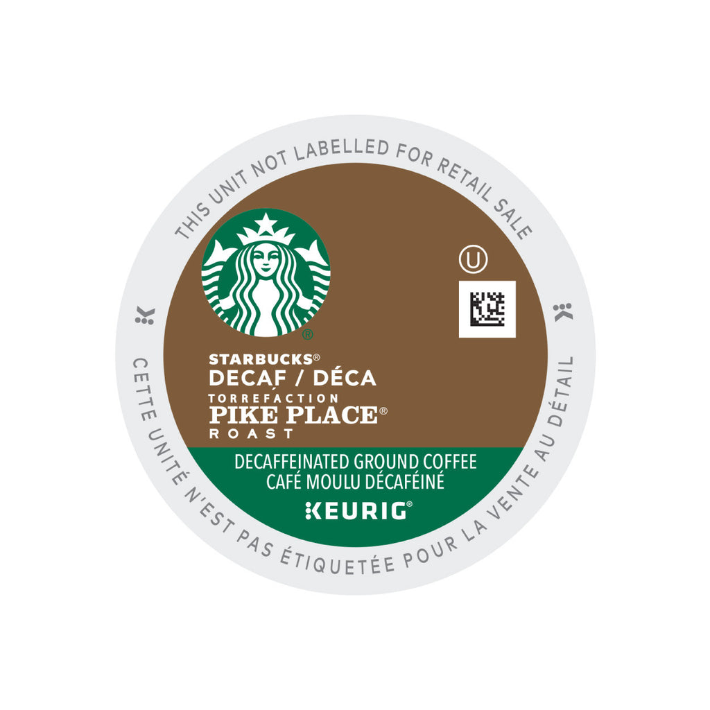 * SALE * Starbucks Decaf Pike Place Roast K-Cup® Pods