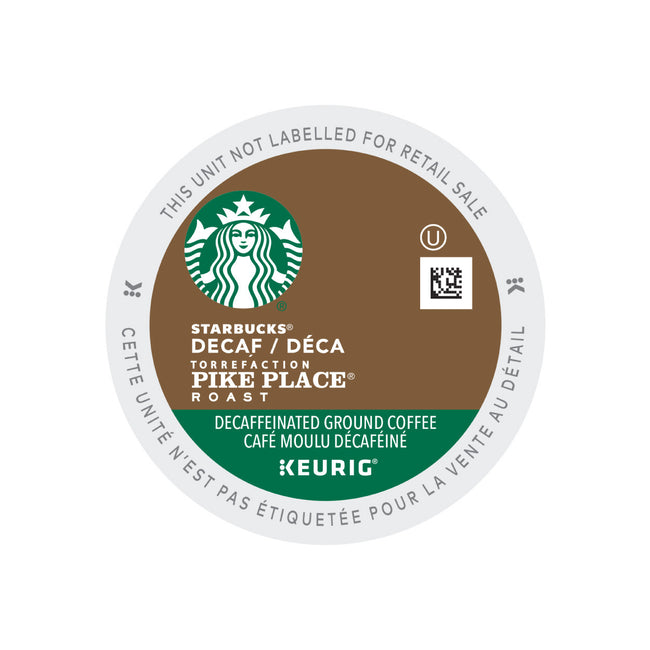 Starbucks Decaf Pike Place Roast K-Cup® Pods (Case of 96)