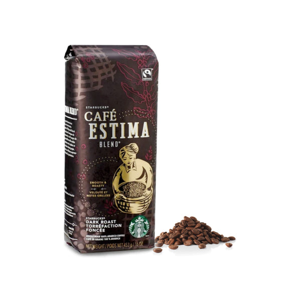 Starbucks Café Estima Blend Coffee Beans (1lb)