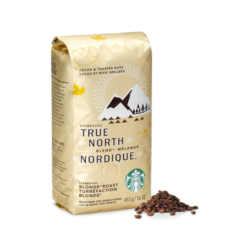 Starbucks True North Blend Coffee Beans (Case of 6x 1lb)