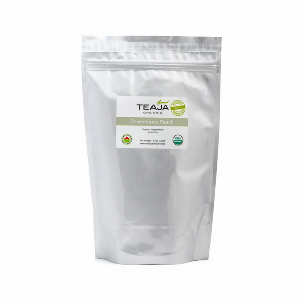 Teaja Powerhouse Peach Organic Loose Leaf Tea (0.5lb)