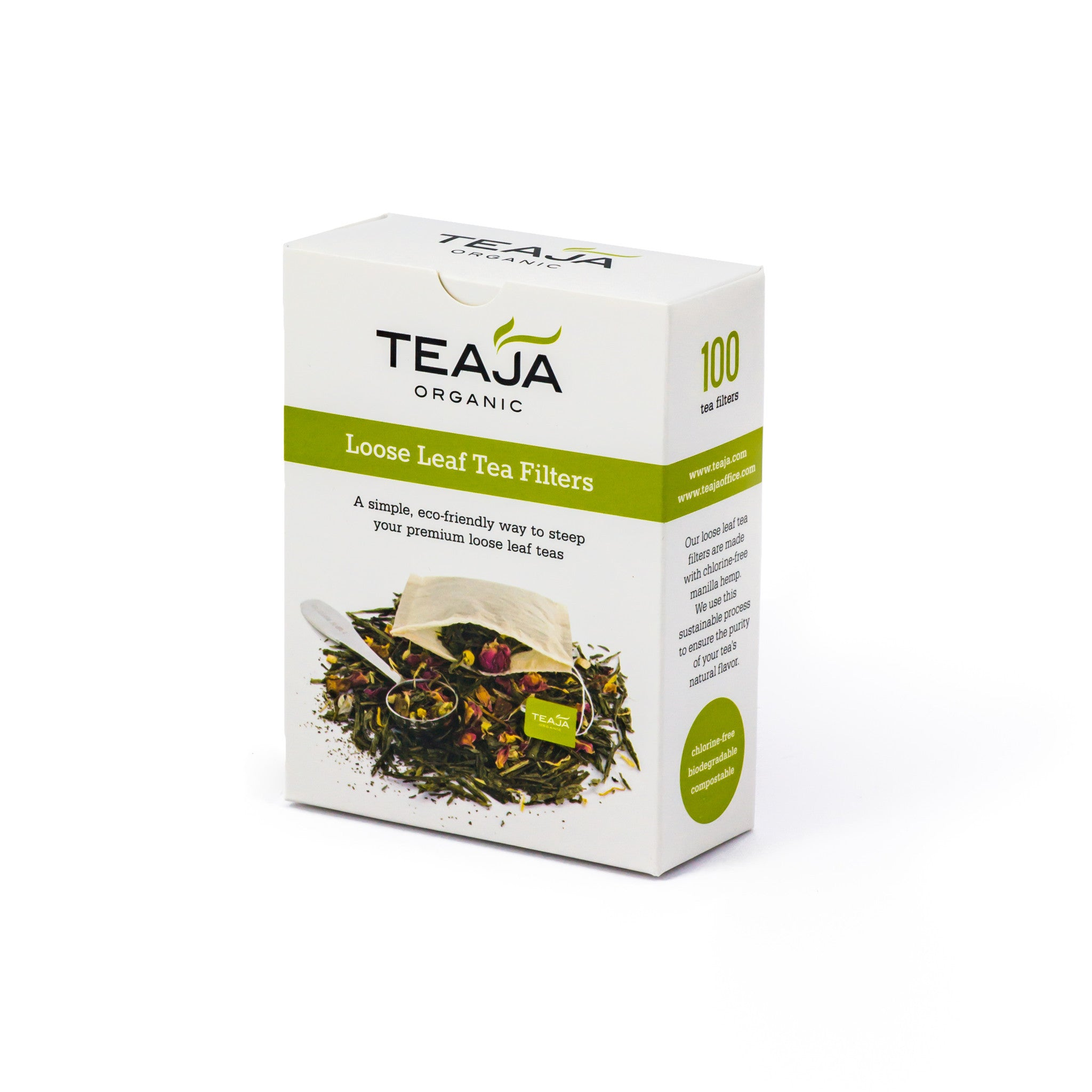 Teaja Loose Leaf Tea Filters Box Of 100