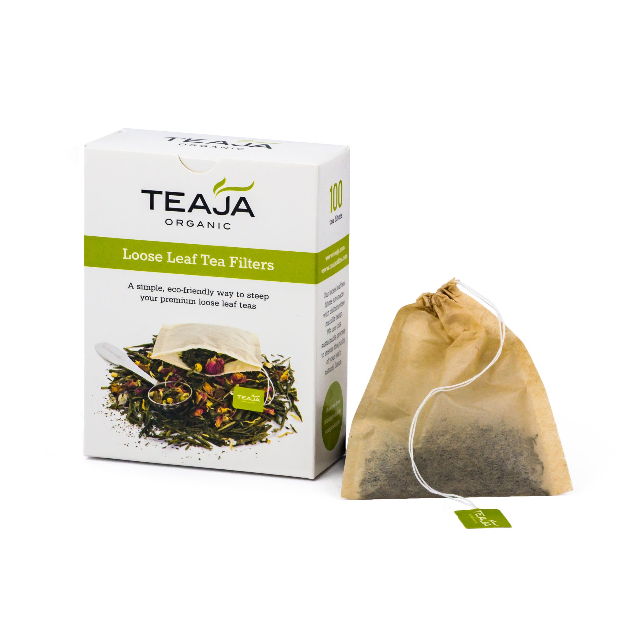 Teaja Loose Leaf Tea Filters Box Of 100 14483 Usd