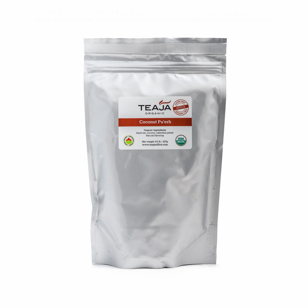 Teaja Coconut Pu'erh Loose Leaf Tea