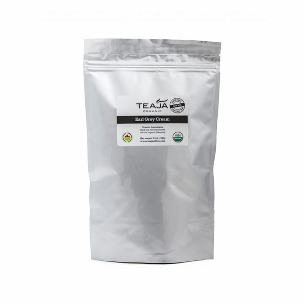 Teaja Loose Leaf Tea Earl Grey Cream 0.5lb Bag