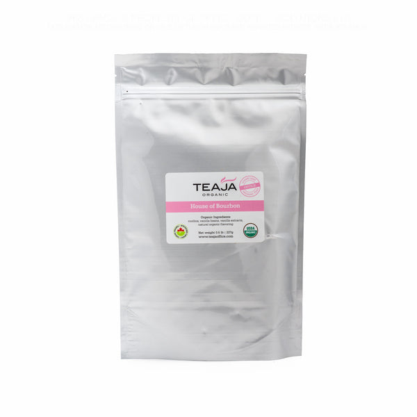 Teaja Loose Leaf Tea House of Bourbon 0.5lb Bag