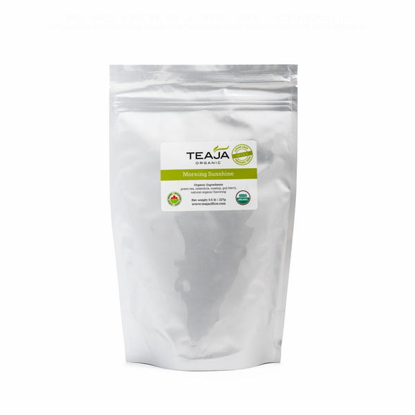 Teaja Loose Leaf Tea Morning Sunshine 0.5lb Bag