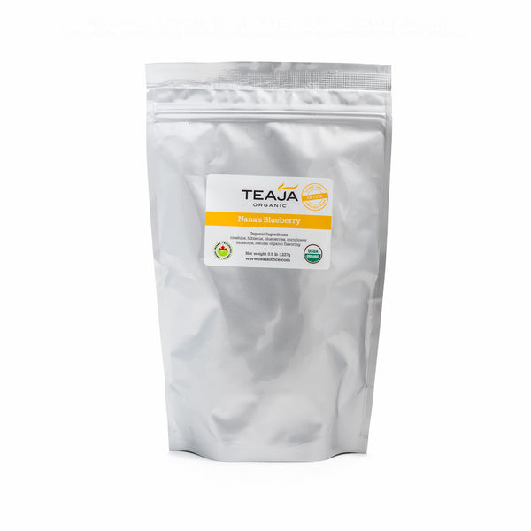 Teaja Loose Leaf Tea Nana's Blueberry 0.5lb Bag