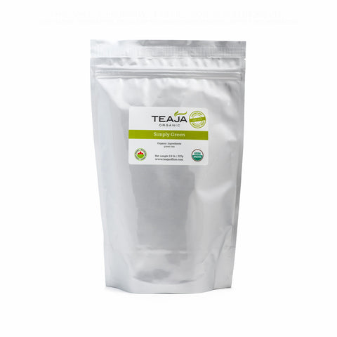 Teaja Simply Green Loose Leaf Tea