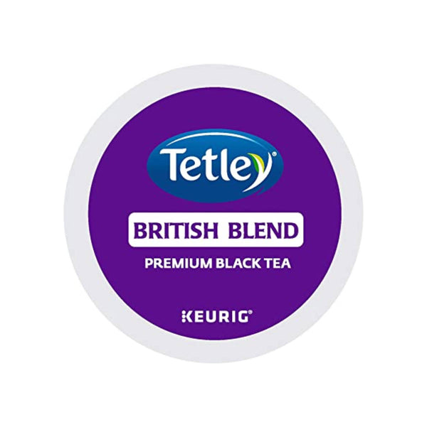 Tetley® British Blend K-Cup® Recyclable Tea Pods (Box of 24)