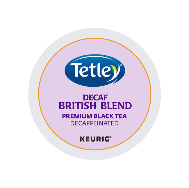 Tetley® British Blend Decaf K-Cup® Recyclable Tea Pods (Case of 96)