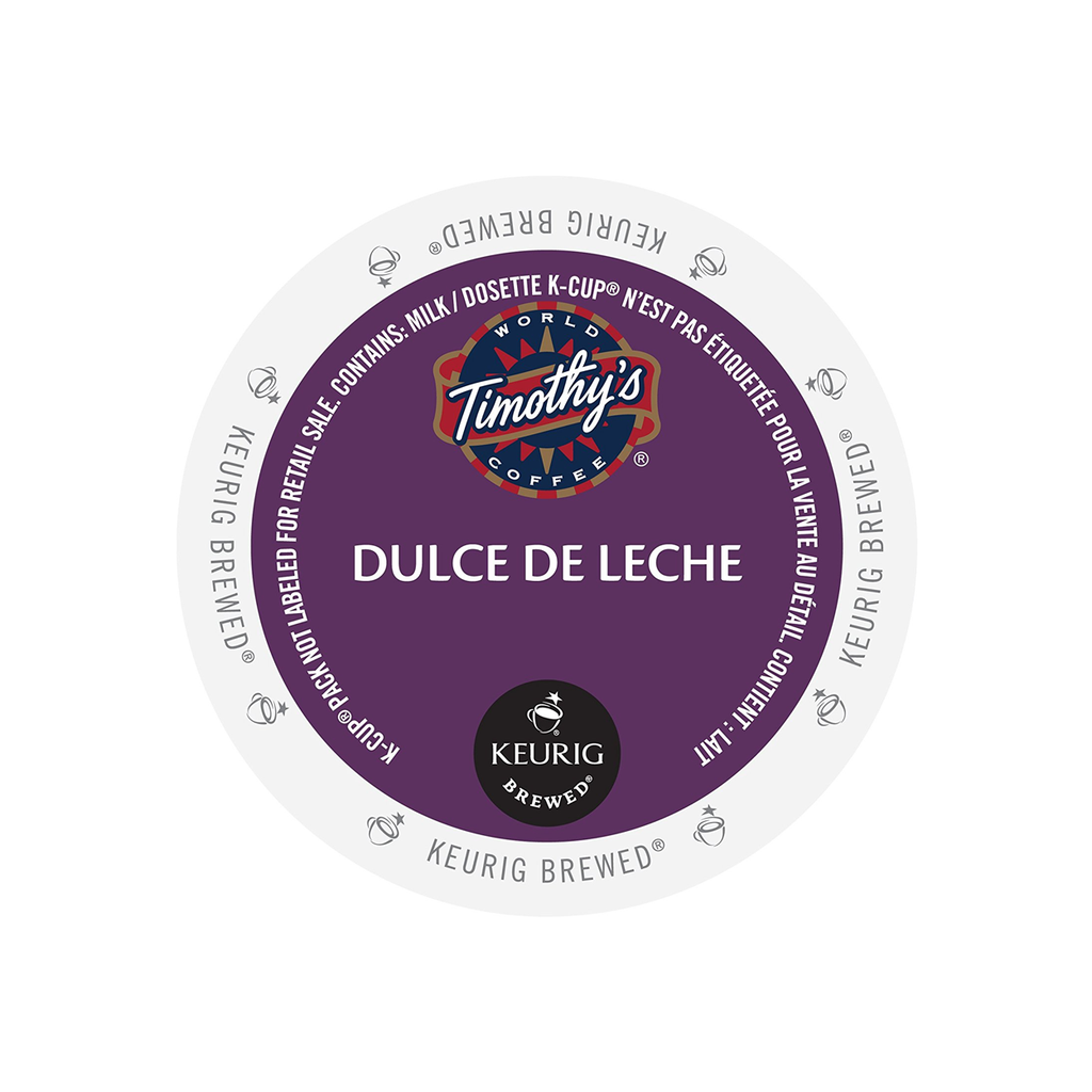 Timothy's Indulgence Dulce De Leche K-Cup® Pods (Case of 96)