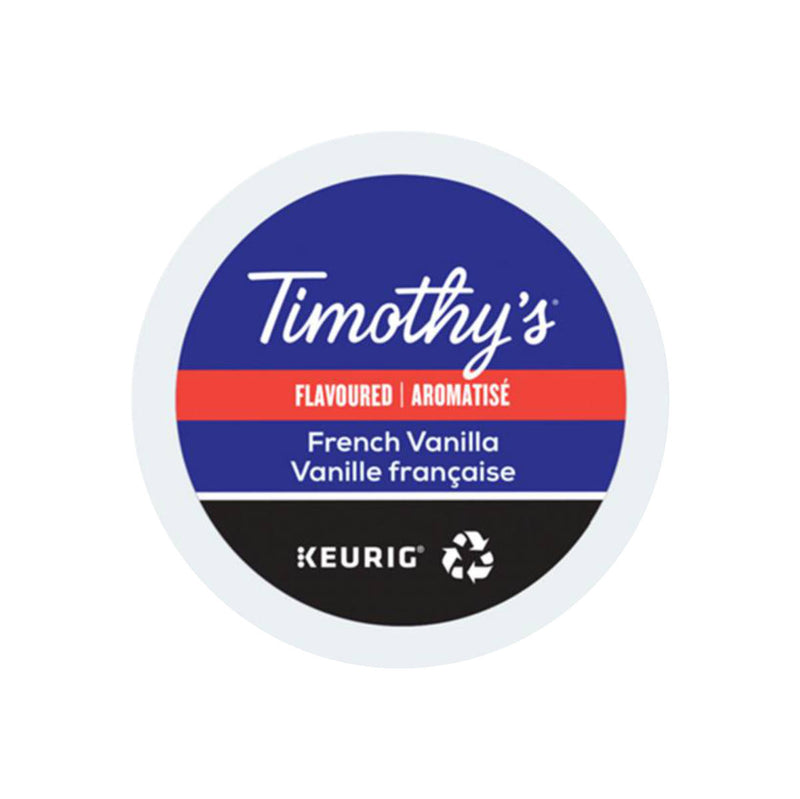 Timothy's French Vanilla K-Cup® Recyclable Pods (Box of 24)