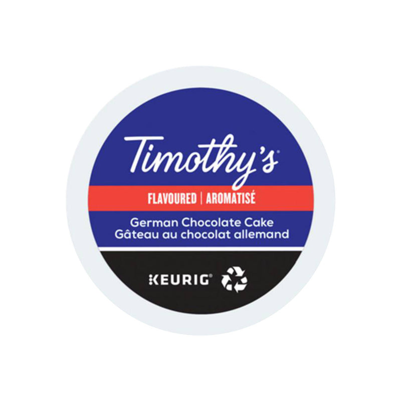 Timothy's German Chocolate Cake K-Cup® Pods (Case of 96)