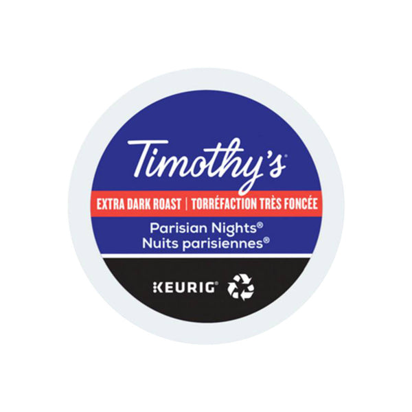 Timothy's Parisian Nights K-Cup® Recyclable Pods (Case of 96)