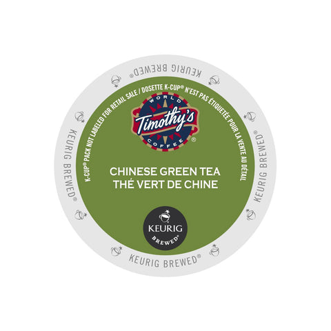 * SALE * Timothy's Chinese Green Tea K-Cup® Pods (Box of 24)