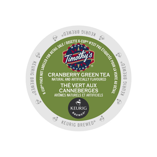 Timothy's Cranberry Green Tea K-Cup® Pod