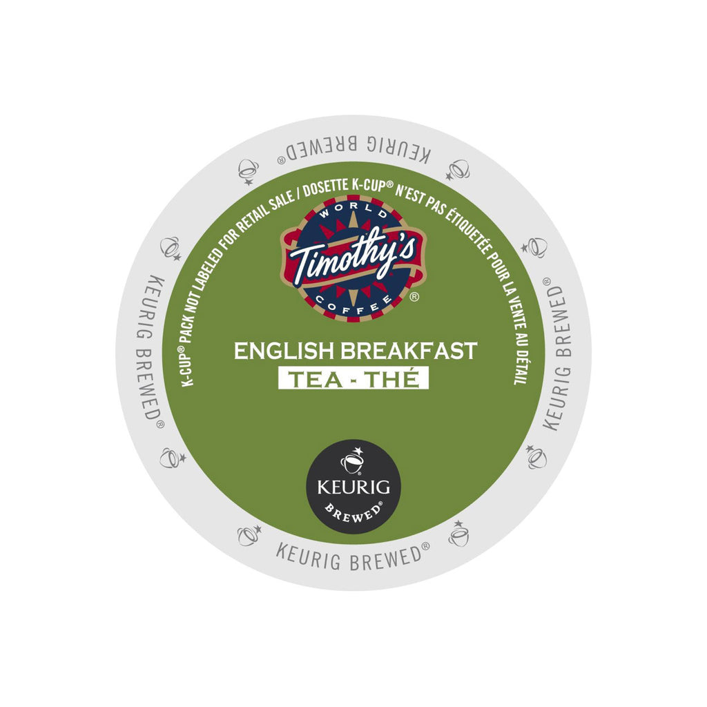 Timothy's English Breakfast Tea K-Cup® Pods (Case of 96)