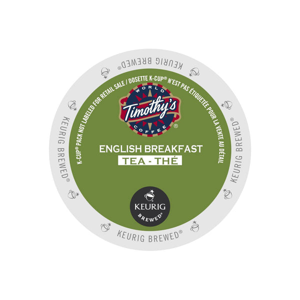 Timothy's English Breakfast Tea K-Cup® Pod