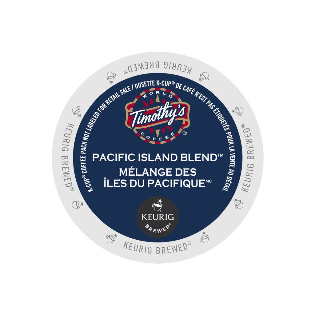 Timothy's Pacific Island K-Cup® Pods (Case of 96)