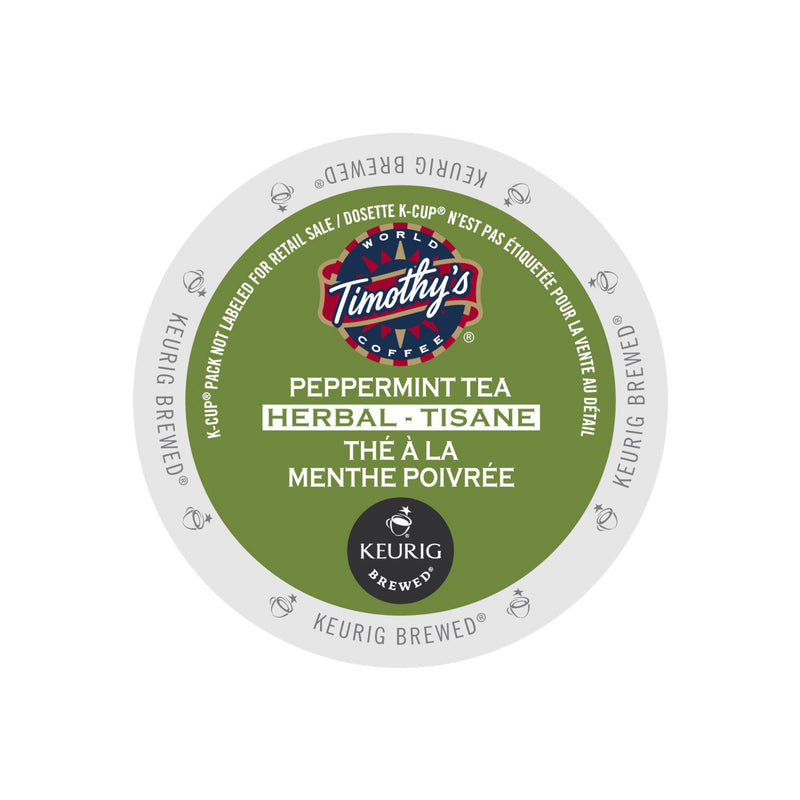 Timothy's Peppermint Tea K-Cup® Pod