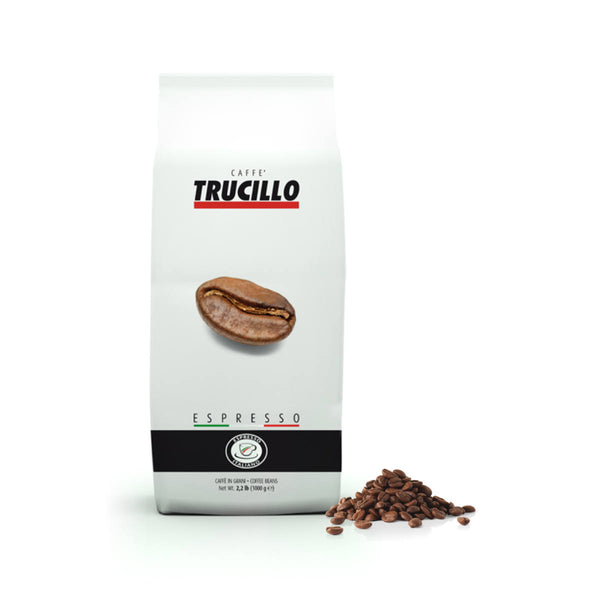 Trucillo Gran Caffe Espresso (1kg / 2.2lbs Bag of Whole Bean Coffee)