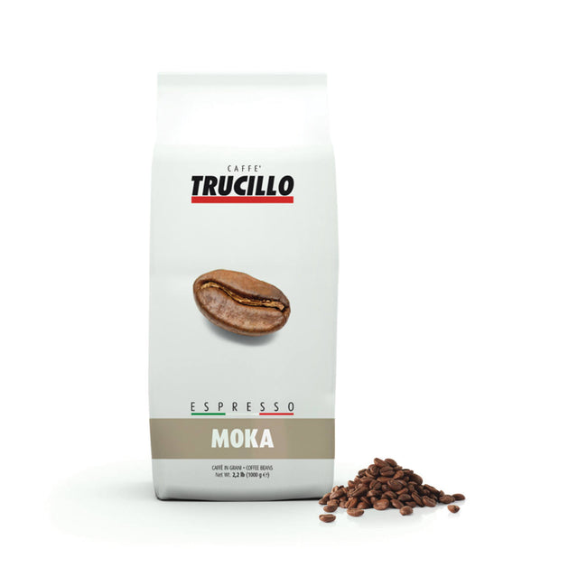 Trucillo Gran Moka Espresso (1kg / 2.2lbs Bag of Whole Bean Coffee)