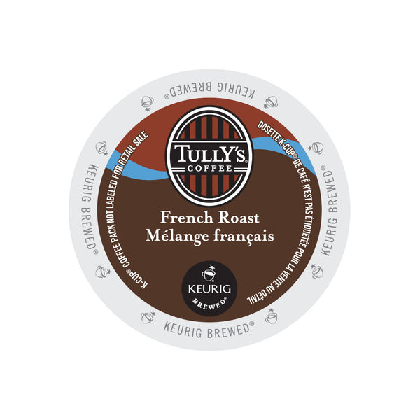 Tully's Coffee: French Roast K-Cup® Pod