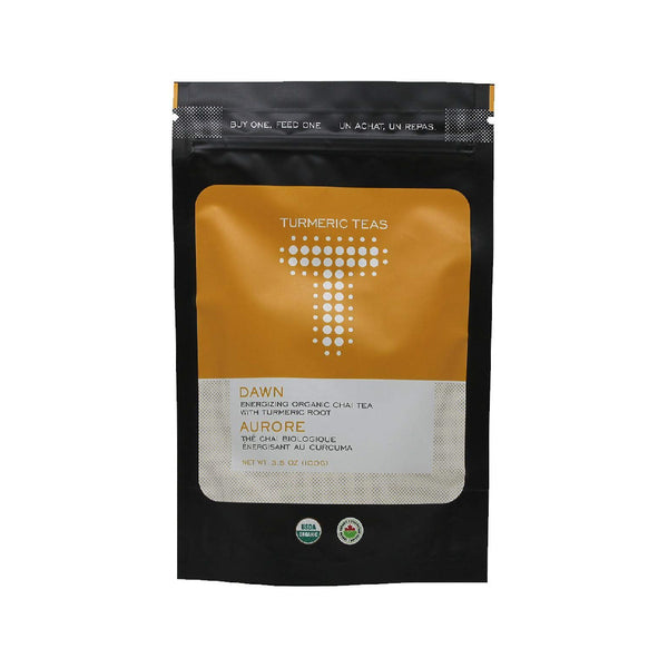 Turmeric Teas Dawn Black Chai Loose Leaf Tea (Case of 600g / 21 oz)