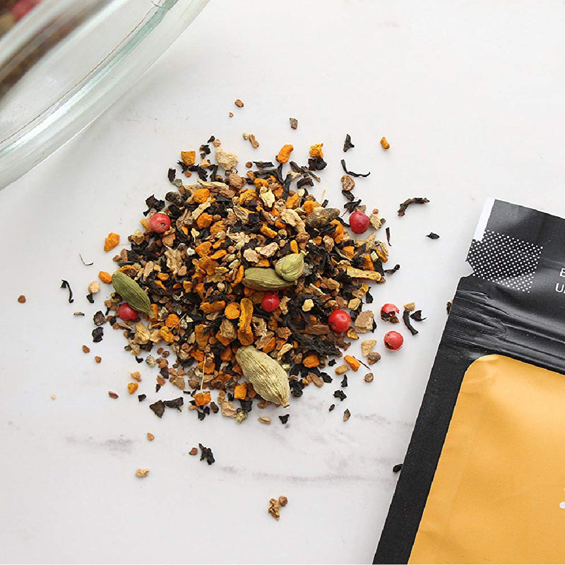 Turmeric Teas Dawn Black Chai Loose Leaf Tea (Case of 168g)