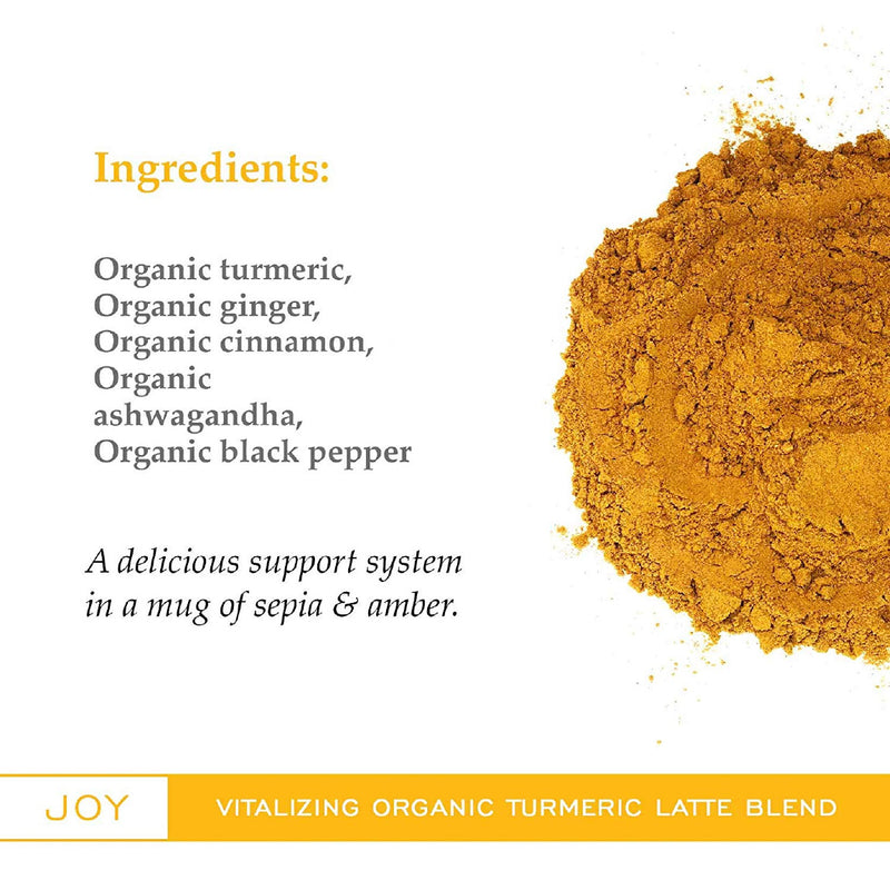 Turmeric Latte Joy Golden Milk Blend Powder (Case of 600g / 21 oz)