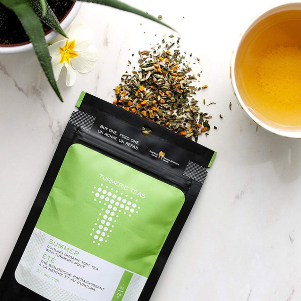 Turmeric Teas Summer Mint Loose Leaf Tea (28g)