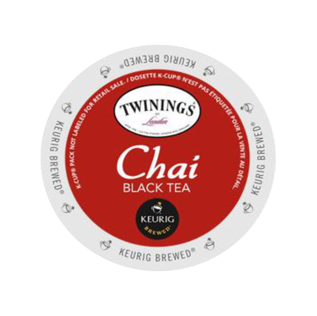 Twinings Chai Tea K-Cup® Pods (Case of 96)