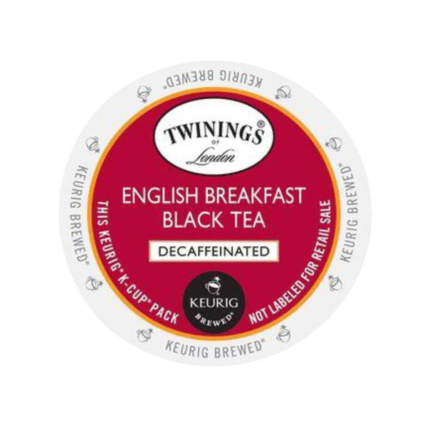 Twinings Tea English Breakfast Decaf K-Cup® Pods (Case of 96)