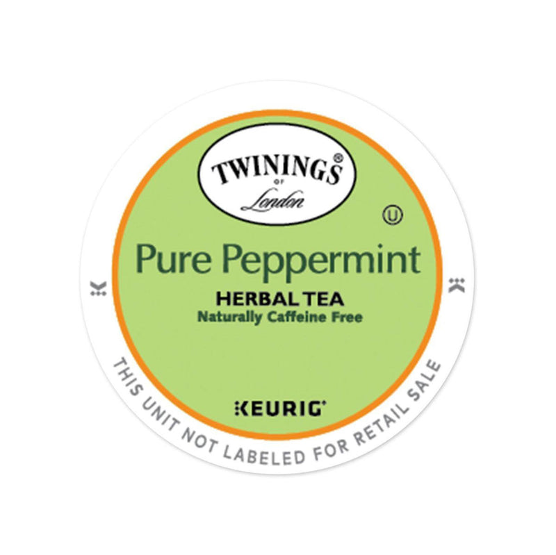 Twinings Peppermint Tea K-Cup® Pods (Box of 24)
