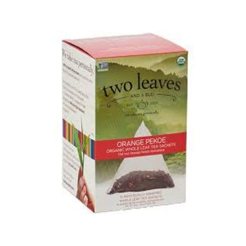 Two Leaves & A Bud Organic Orange Pekoe Tea (Case of 90)