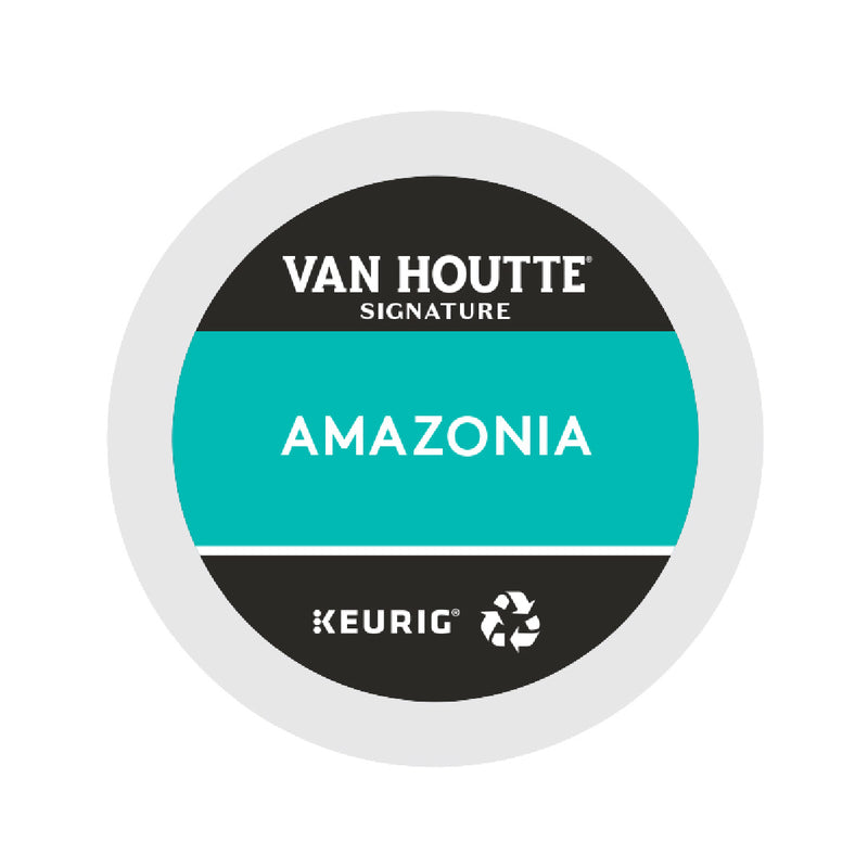 Van Houtte Fair Trade Amazonia K-Cup® Recyclable Pods (Case of 96)