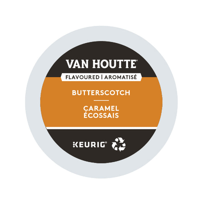 Van Houtte Butterscotch K-Cup® Recyclable Pods (Box of 24)
