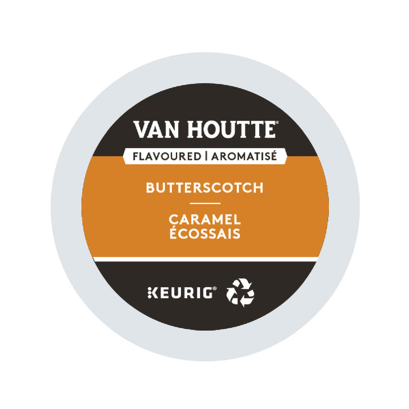 Van Houtte Butterscotch K-Cup® Recyclable Pods (Case of 96)