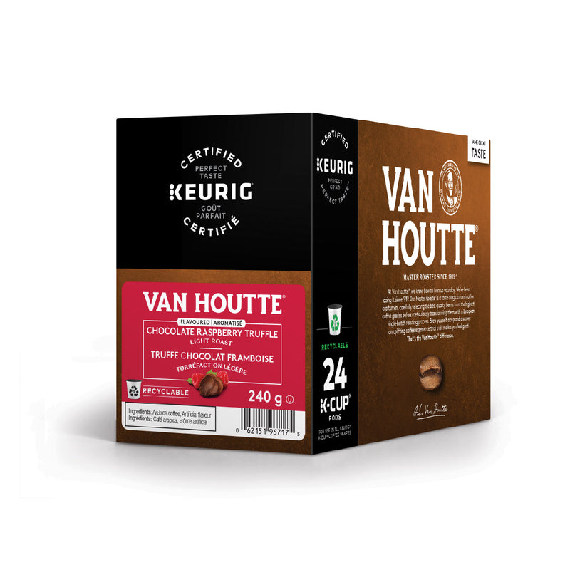 Van Houtte Chocolate Raspberry Truffle K-Cup® Recyclable Pods (Box of 24)