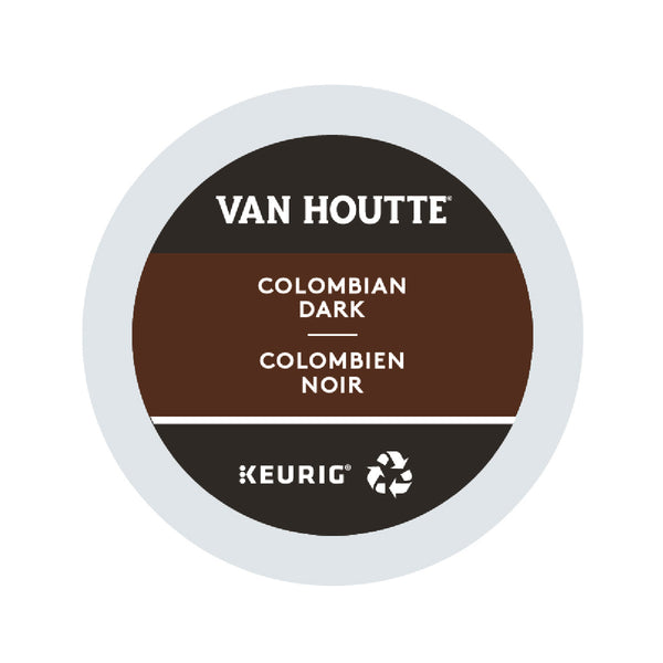 Van Houtte Colombian Dark K-Cup® Recyclable Pods (Case of 96)