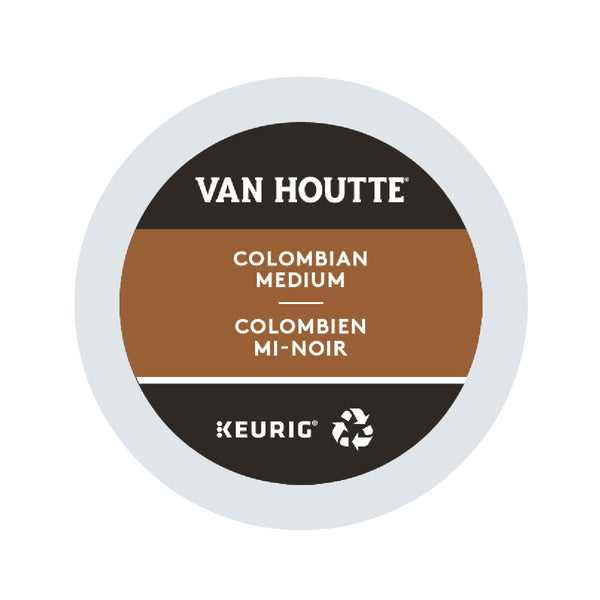 Van Houtte Colombian Medium K-Cup® Recyclable Pods (Case of 96)