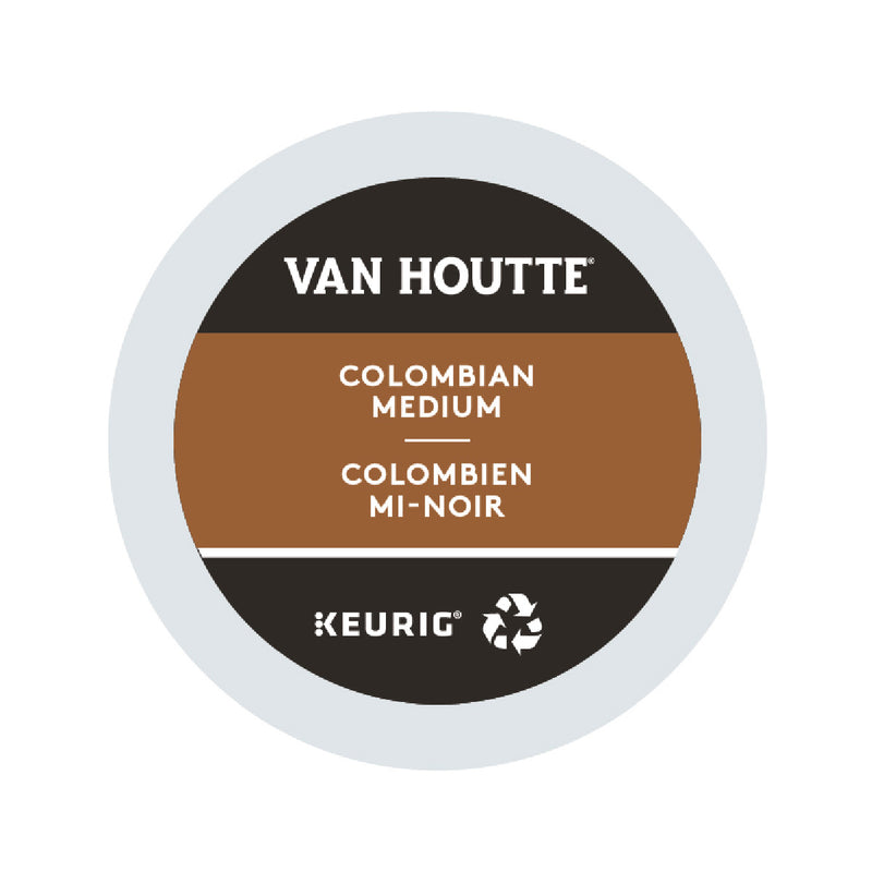 Van Houtte Colombian Medium K-Cup® Recyclable Pods (Box of 24)