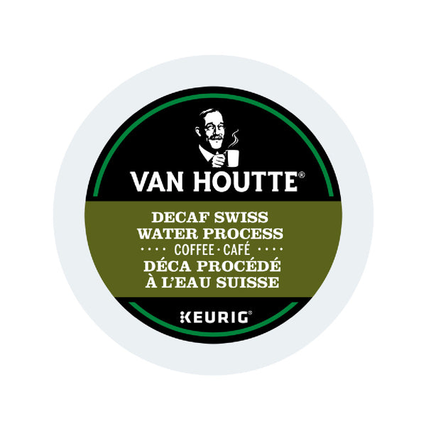 Van Houtte Decaf. Fair Trade Swiss Water Organic K-Cup® Recyclable Pods (Box of 24)