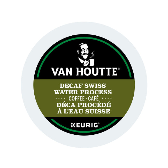 Van Houtte Decaf. Fair Trade Swiss Water Organic K-Cup® Recyclable Pods (Case of 96)