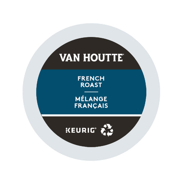 Van Houtte French Roast K-Cup® Recyclable Pods (Box of 24)
