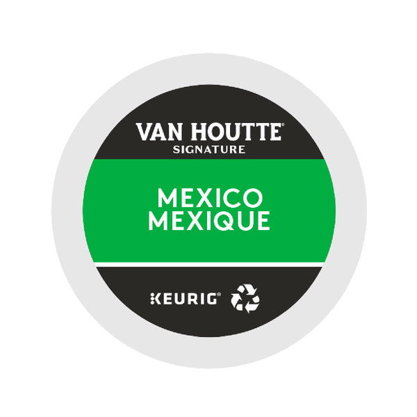 Van Houtte Fair Trade Mexico Organic K-Cup® Recyclable Pods (Box of 24)